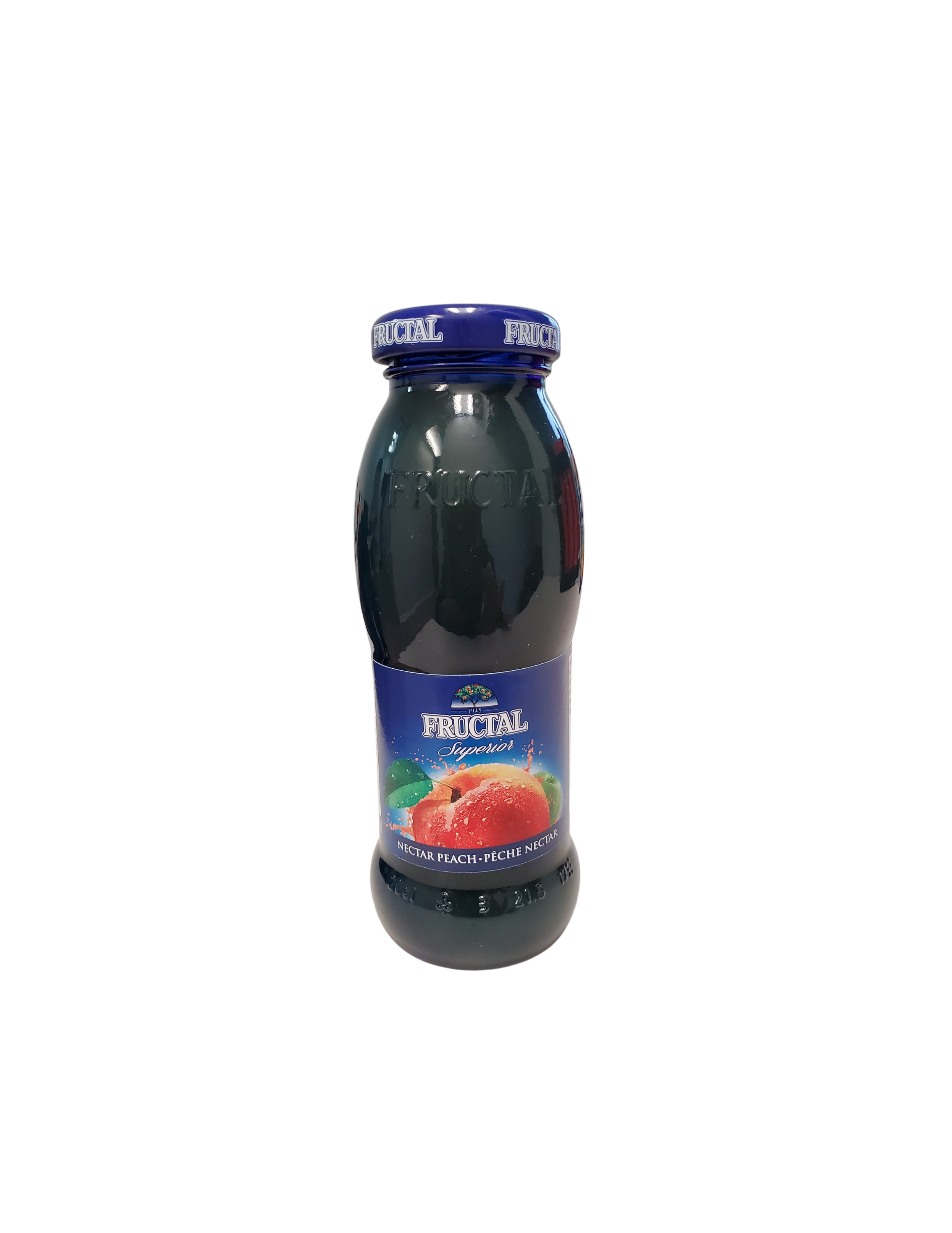 Fructal Blue Bottle | 200 ml | Glass | Peach