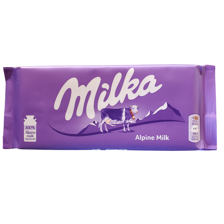Milka Alpine Milk |100 g | Box 24