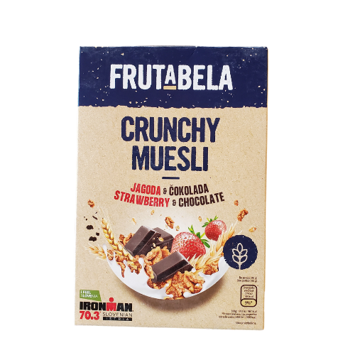 Frutabela Crunchy Muesli | 350 g | Strawberry & Chocolate