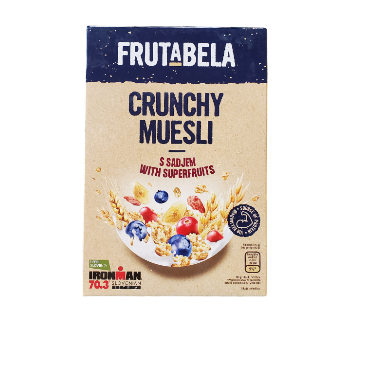 Frutabela Crunchy Muesli | 350 g | With Superfruits