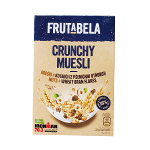 Frutabela Crunchy Muesli | 350 g | Nuts & Wheat Bran Flakes