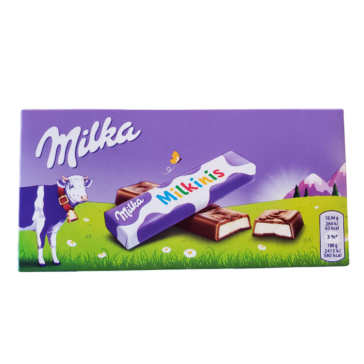 Milka Milkinis Sticks | 87.5g | Box 20