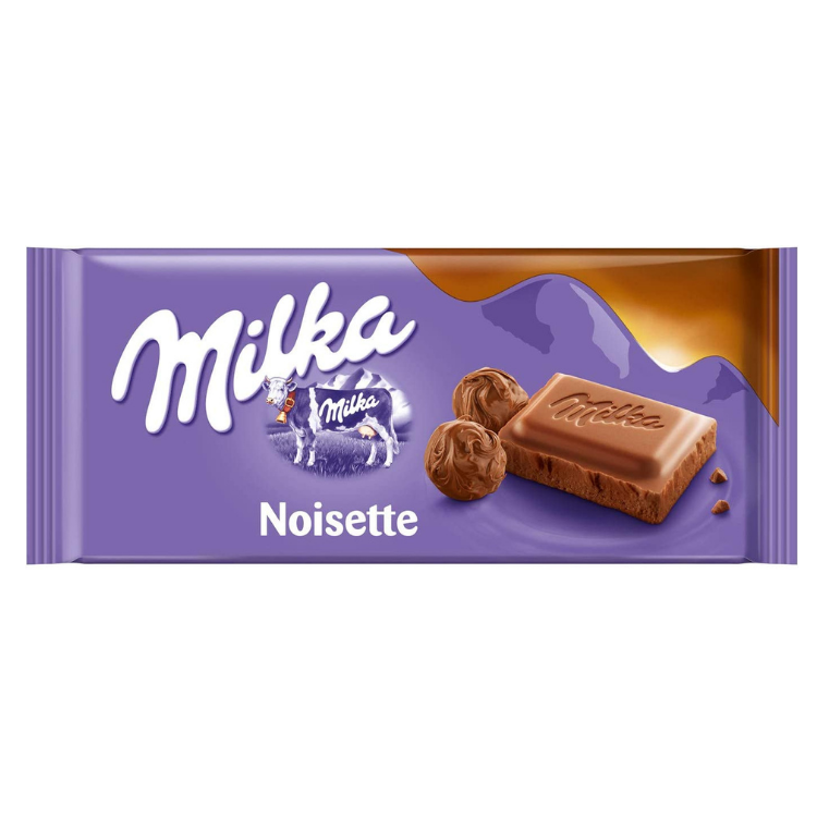 Milka Noisette Chocolate |100 g |Box 23