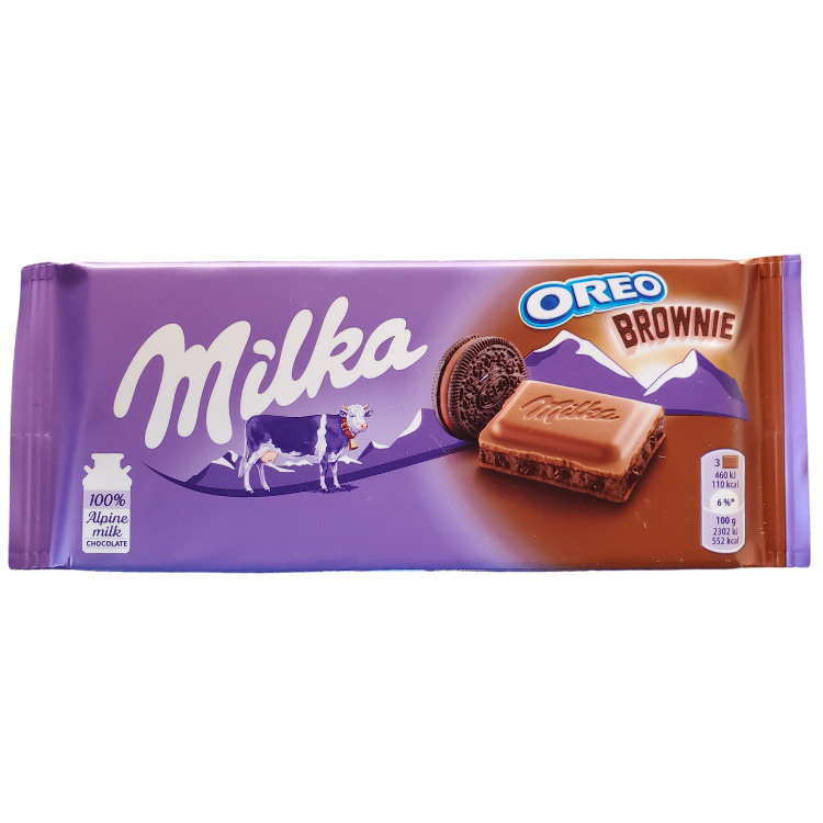 Milka Oreo Brownie |100 g | Box 22