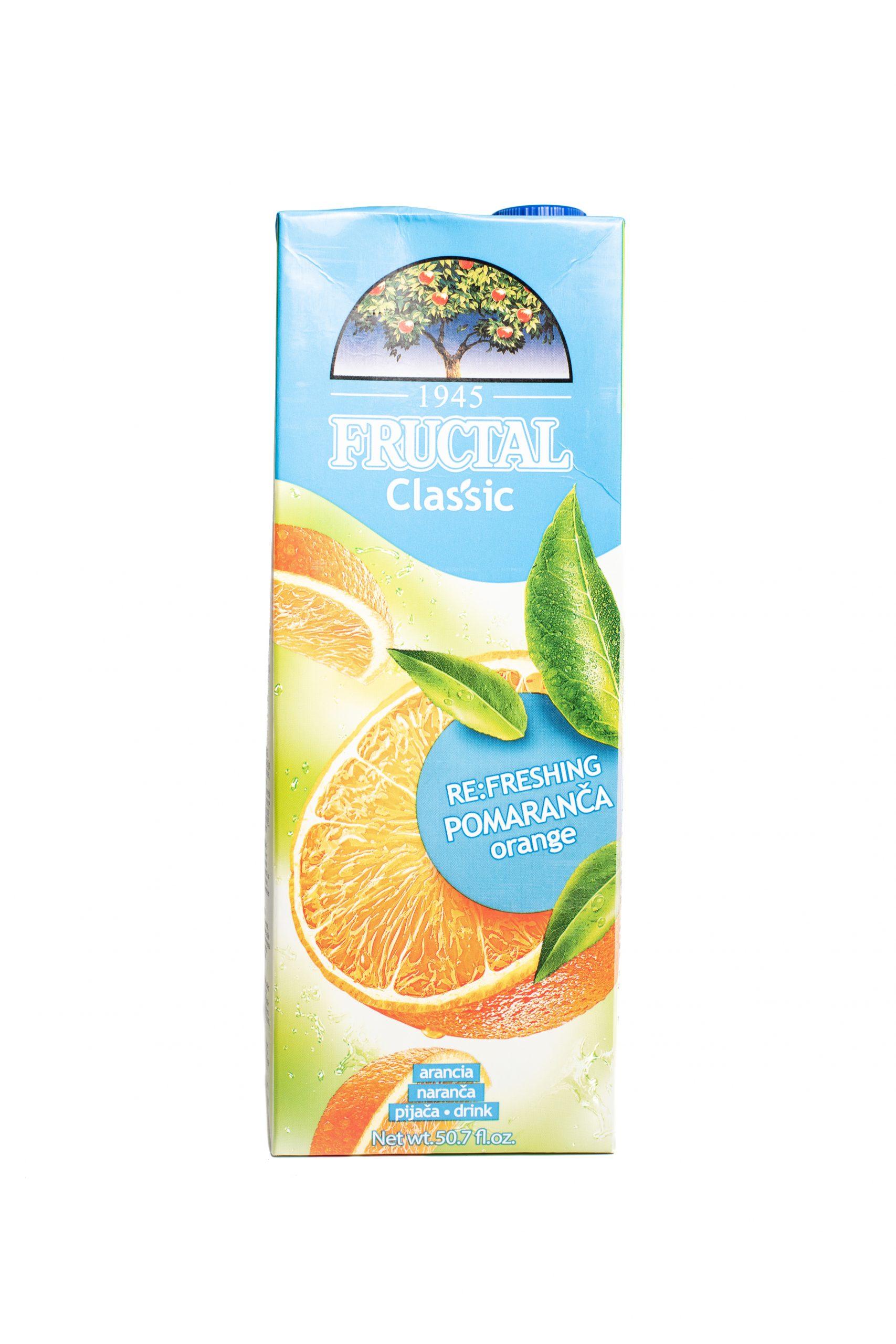 Fructal Classic | 1.5 L | Orange