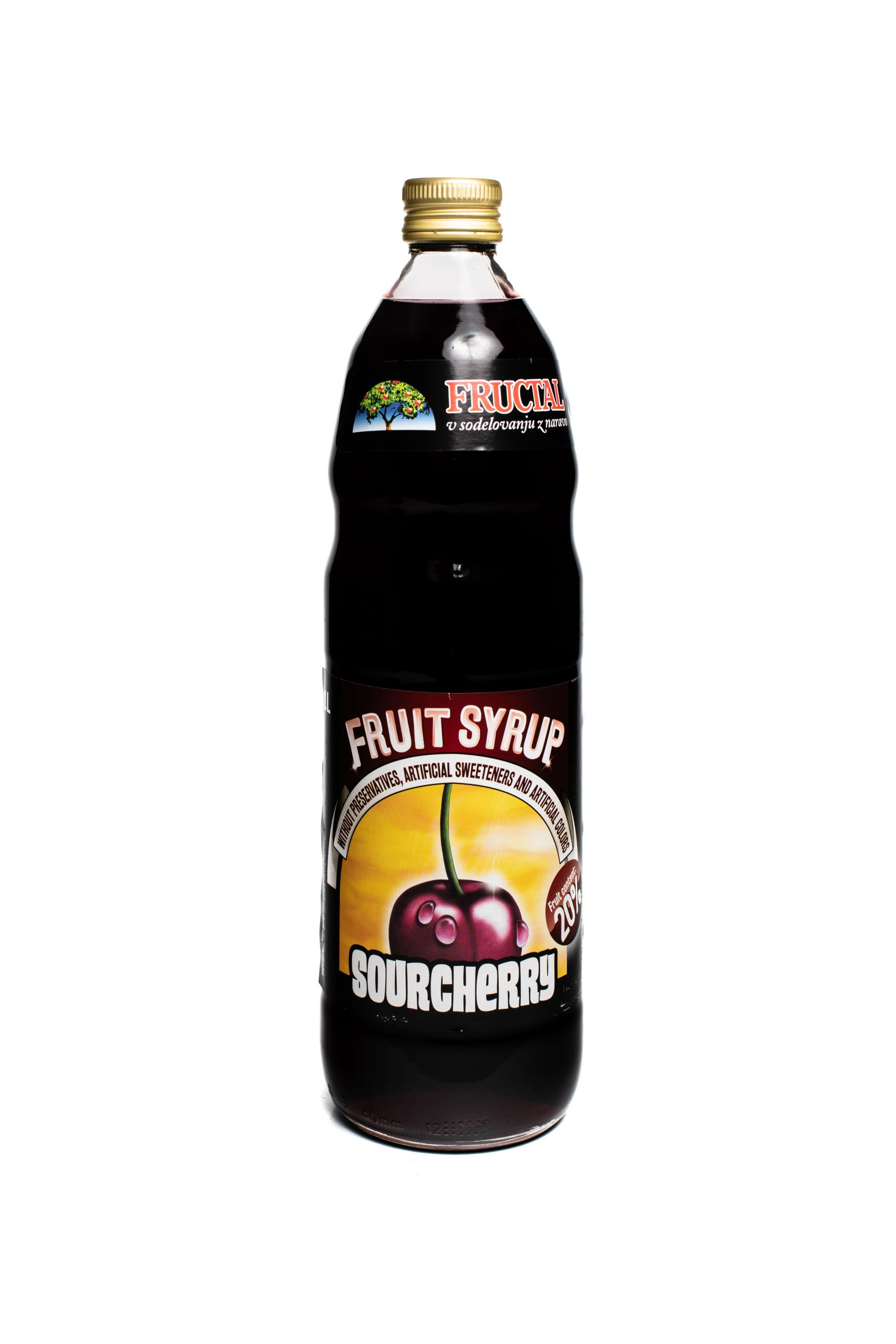 Fructal Syrup | 1 L | Sour Cherry