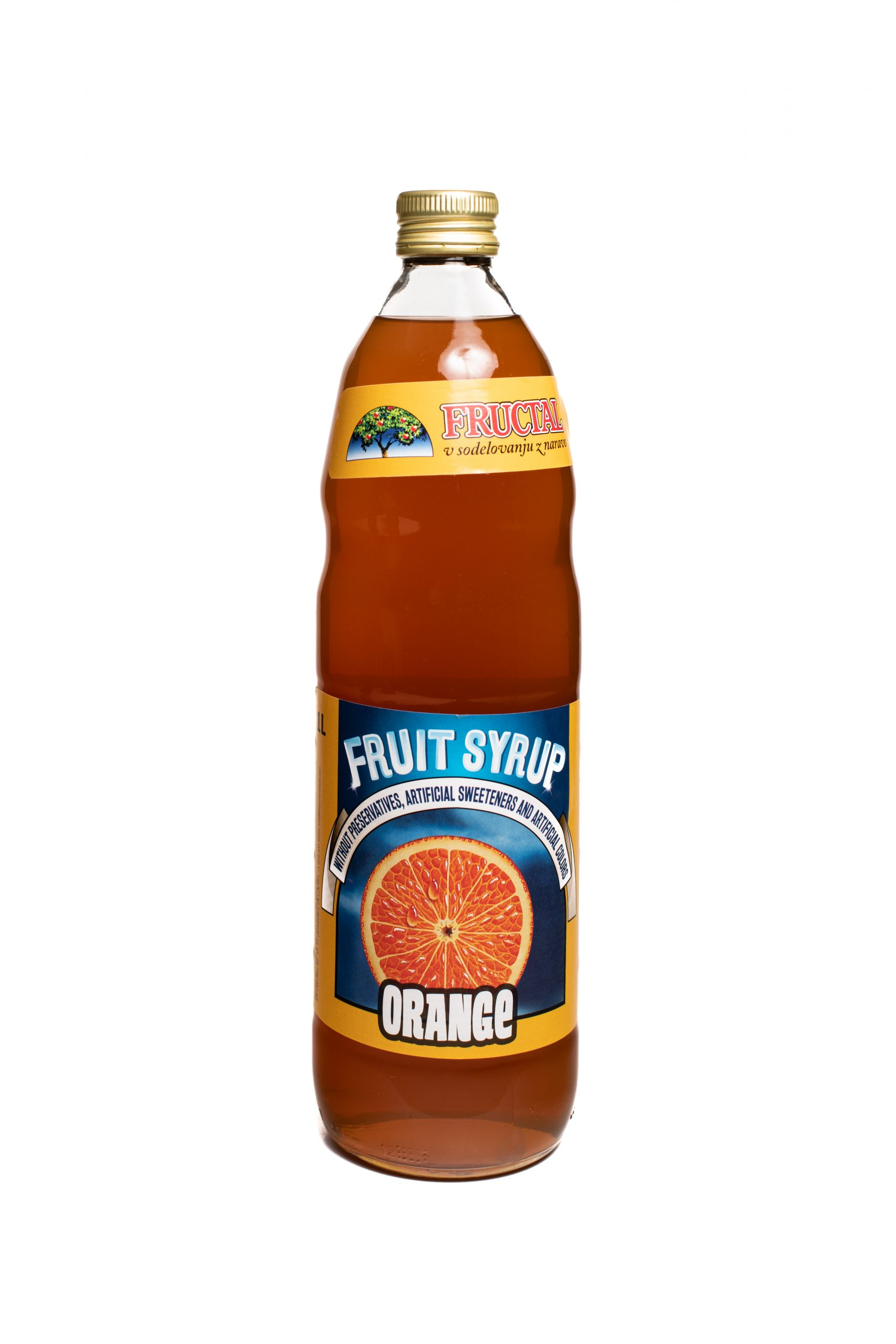 Fructal Syrup | 1 L | Orange