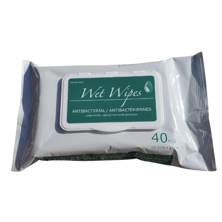 Wet Wipes Antibacterial