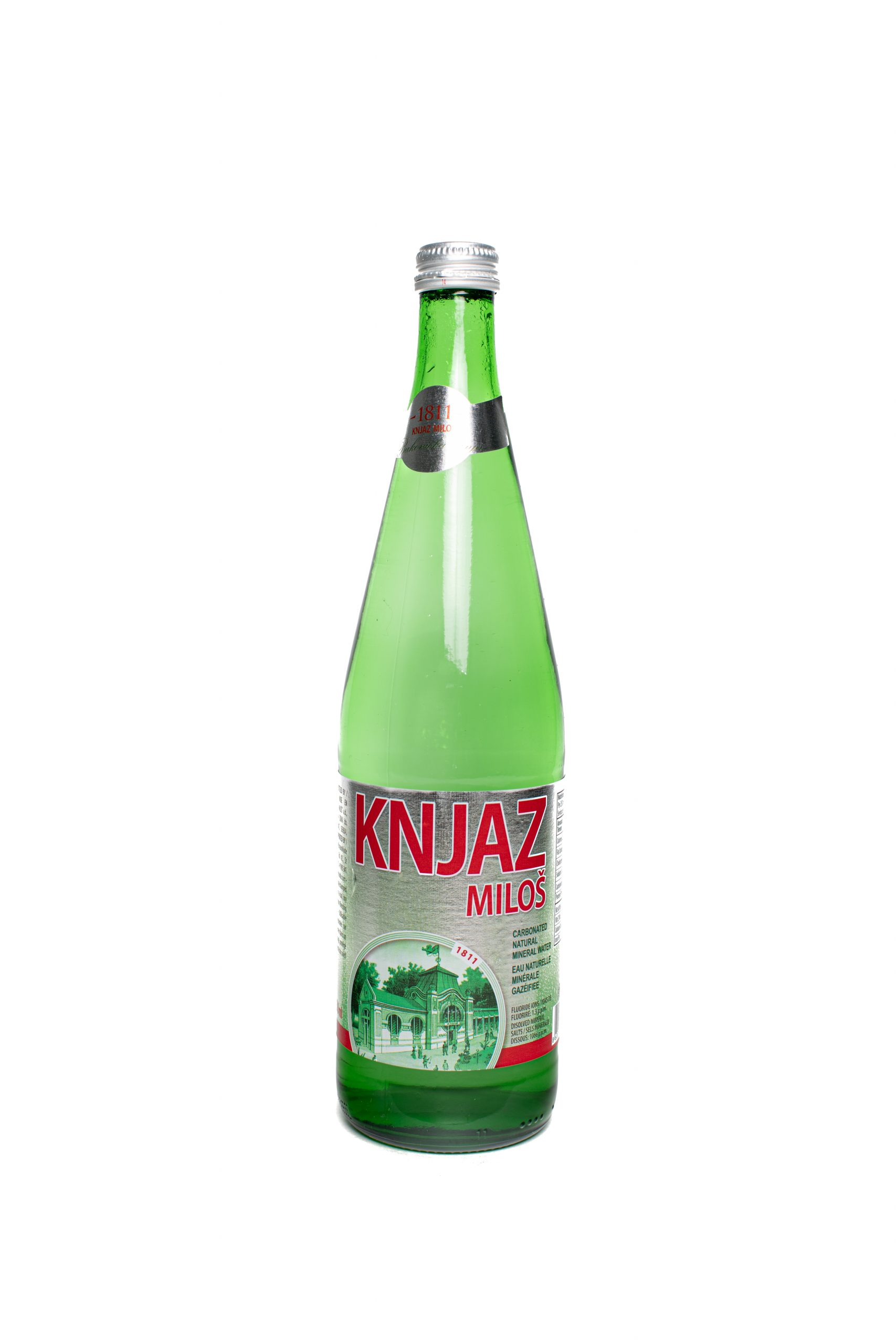 Knjaz Milos Water-750mL | Glass | 12pack
