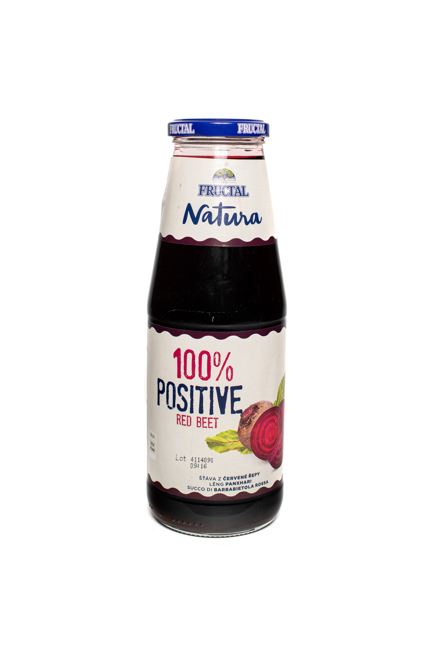 Fructal Natura 100% | 700ml | Glass | Red Beet