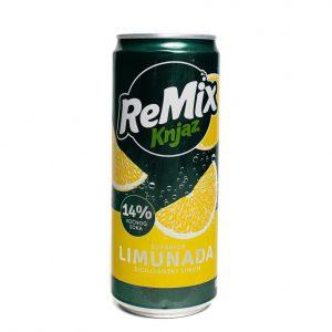 Knjaz ReMix | Lemon | 330 mL | Can | 12pack
