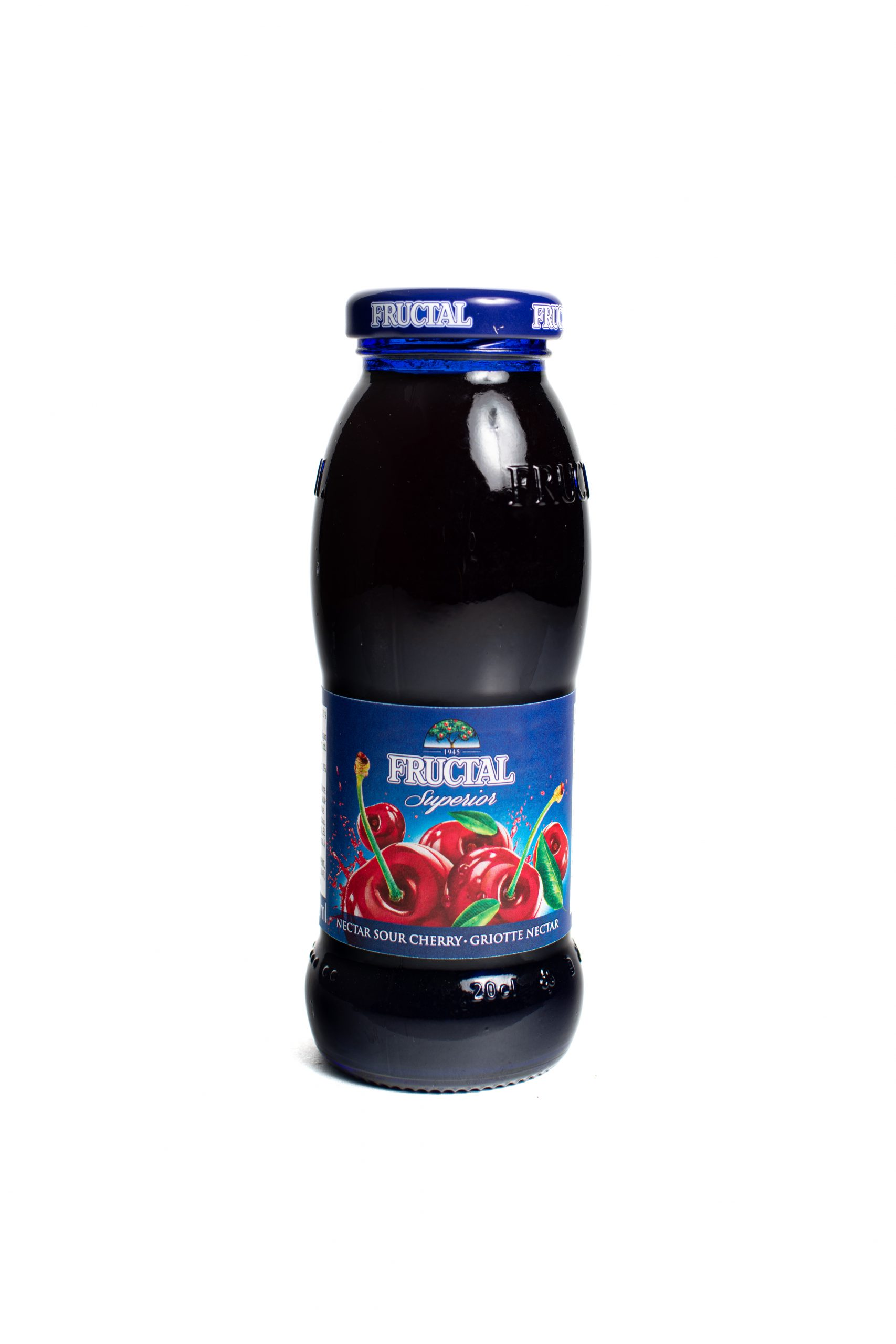 Fructal Blue Bottle | 200 ml | Glass | Sour Cherry
