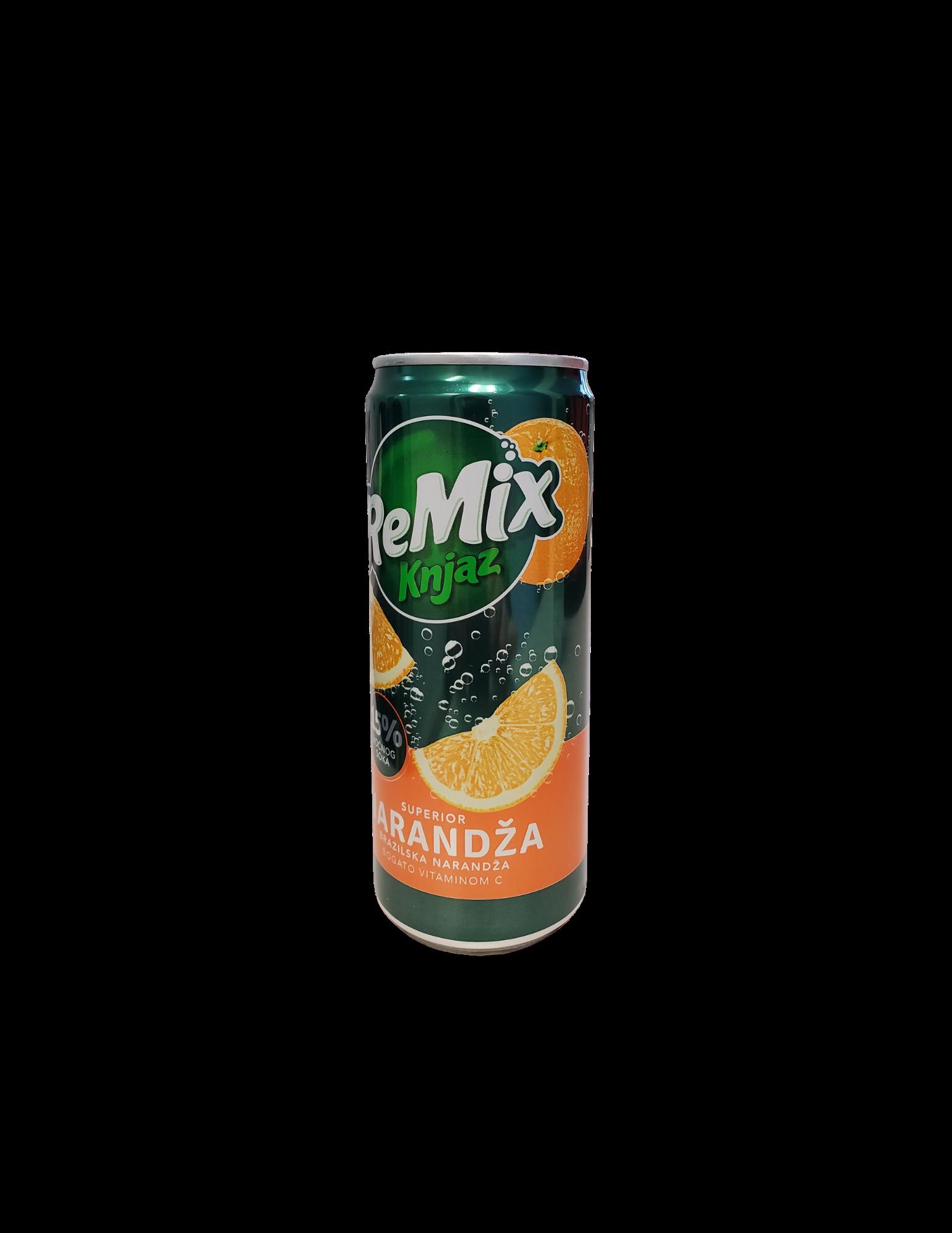 Knjaz ReMix | Orange | 330 mL | Can | 12pack