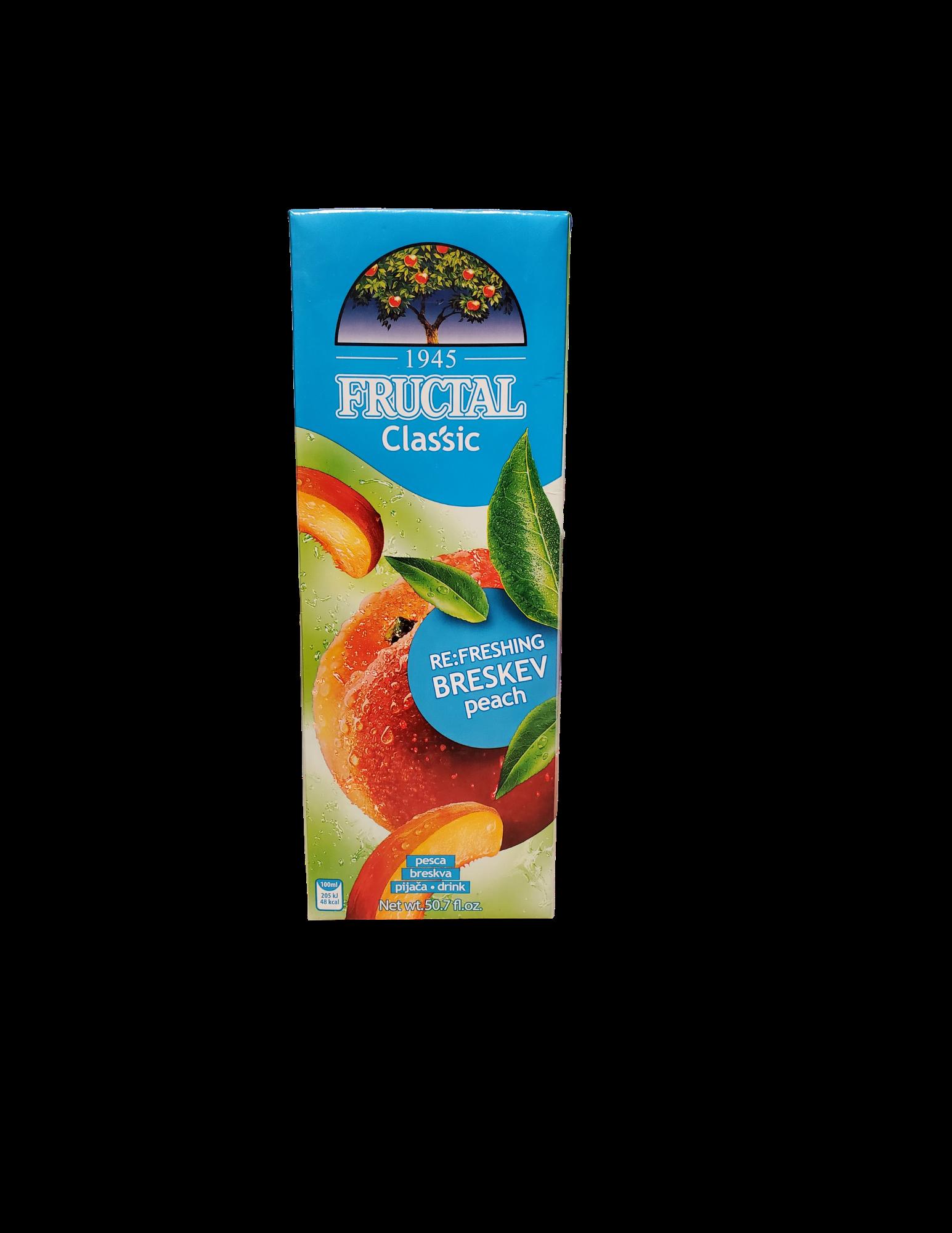 Fructal Classic | 1.5 L | Peach