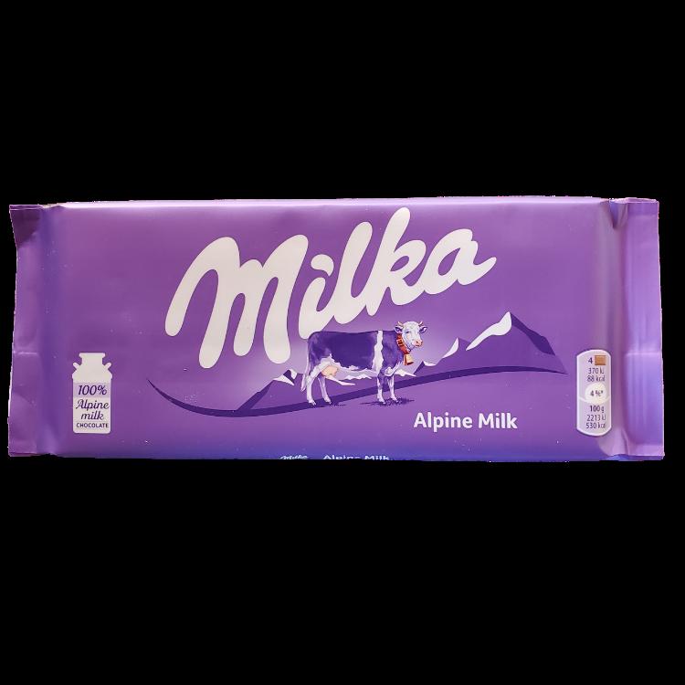 Milka Alpine Milk |100 g | Box 24