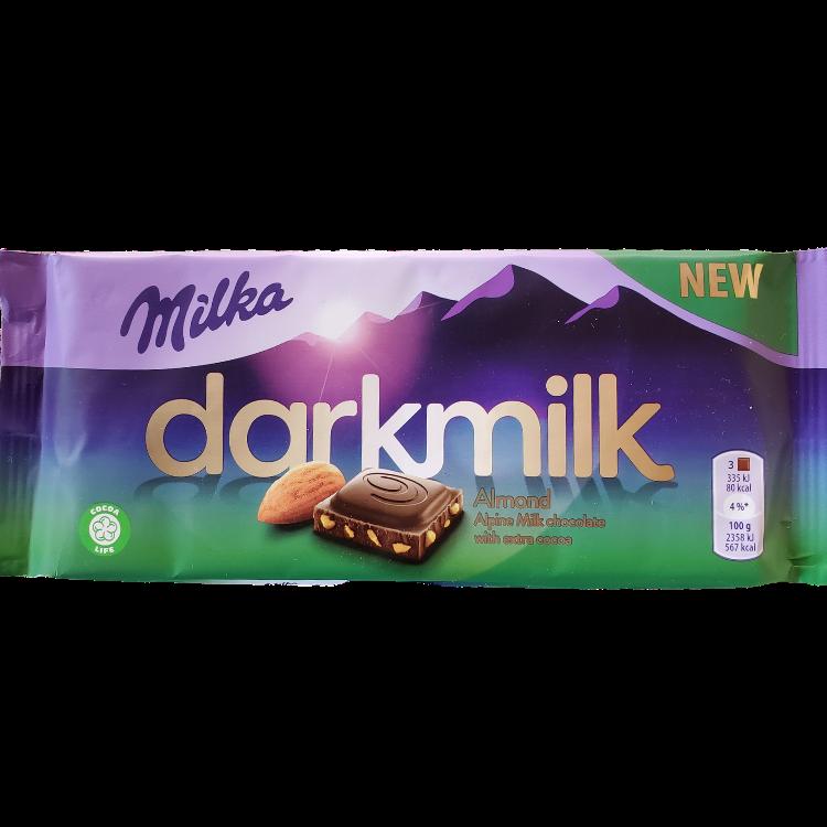 Milka Dark Milk Almond | 85 g | Box 25