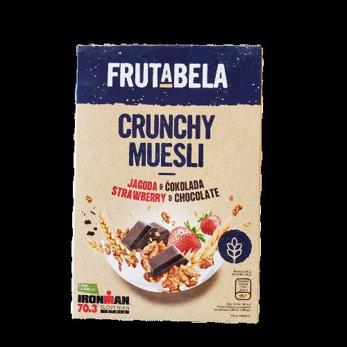 Frutabela Crunchy Muesli | 350 g | Strawberry & Chocolate