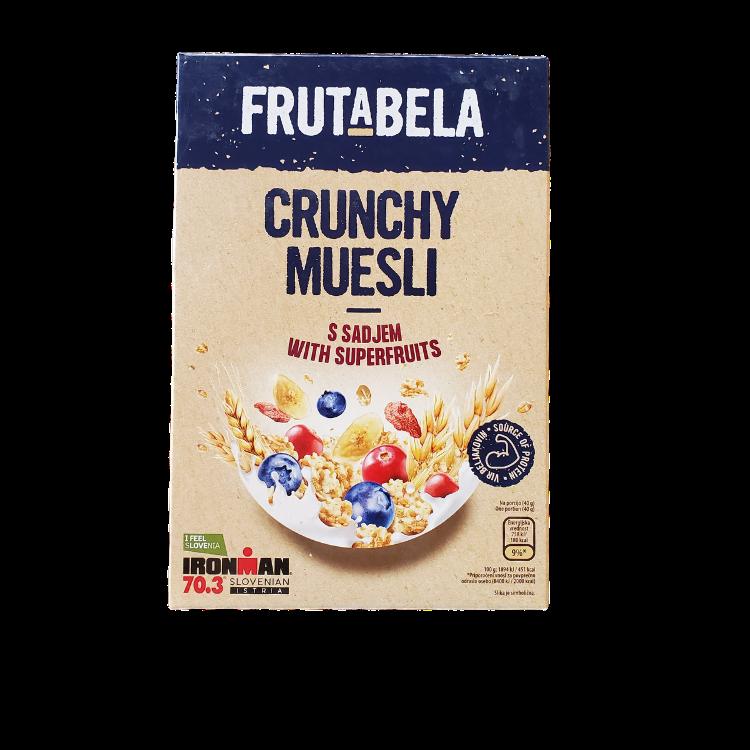 Frutabela Crunchy Muesli | 350 g | With Superfruits