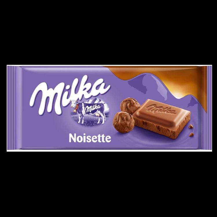 Milka Noisette Chocolate |100 g |Box 23