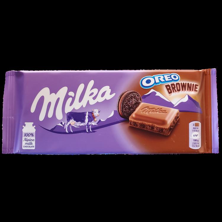 Milka Oreo Brownie |100 g | Box 22