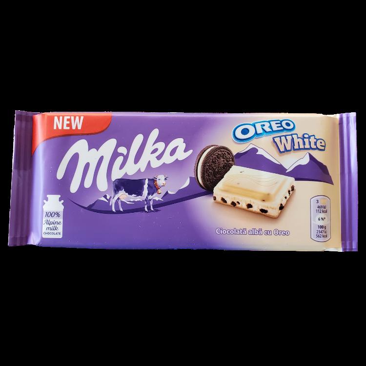 Milka Oreo White | 100 g | Box 22