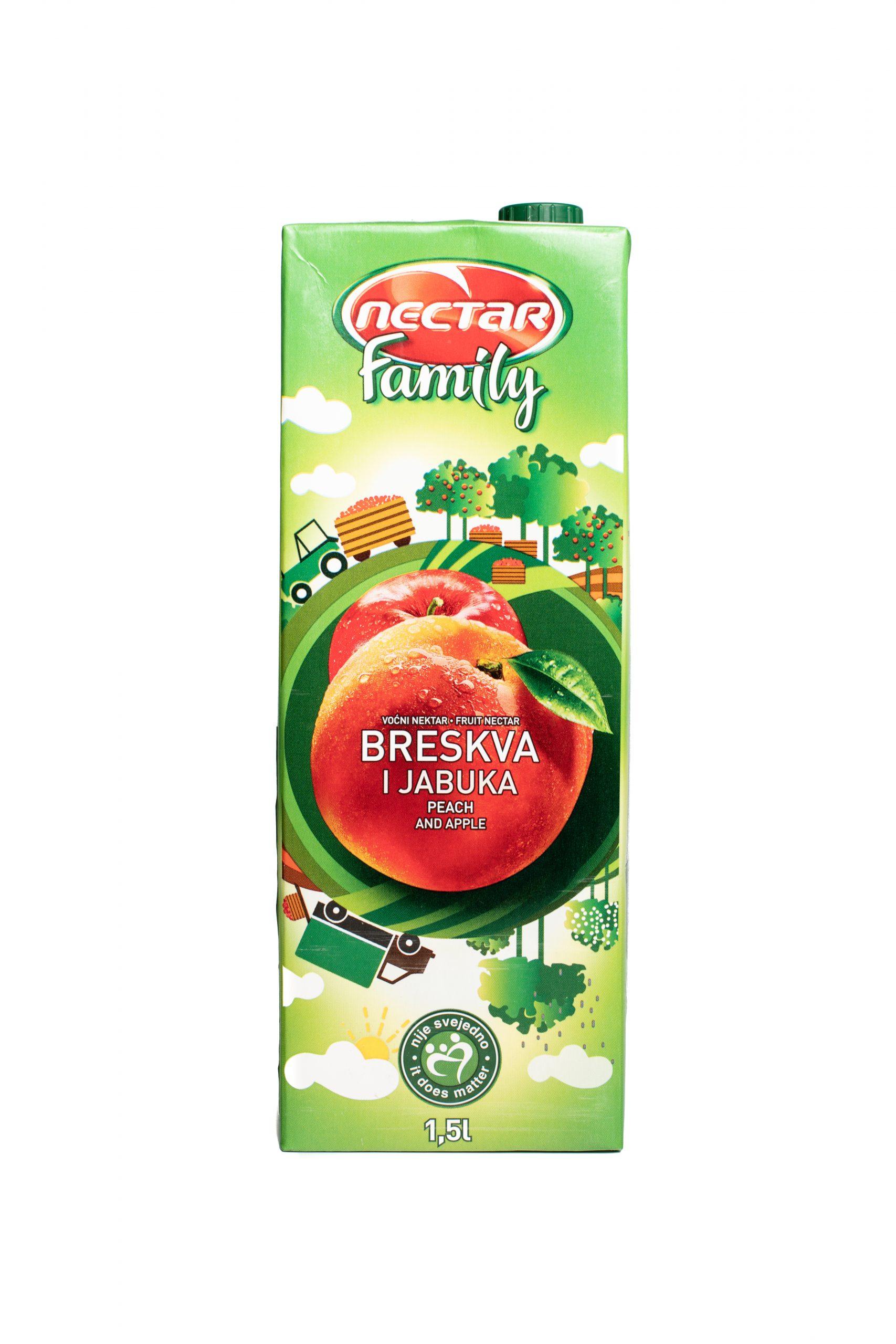 Nectar Family | 1.5 L | Peach
