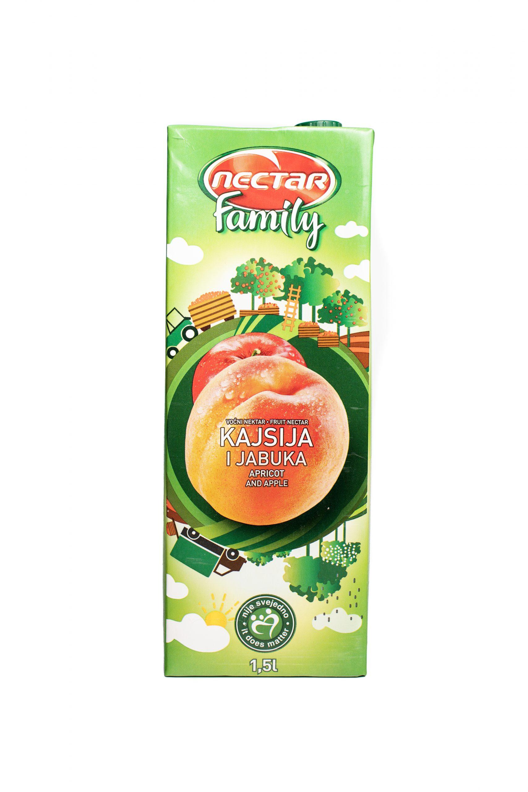Nectar Family | 1.5 L | Apricot