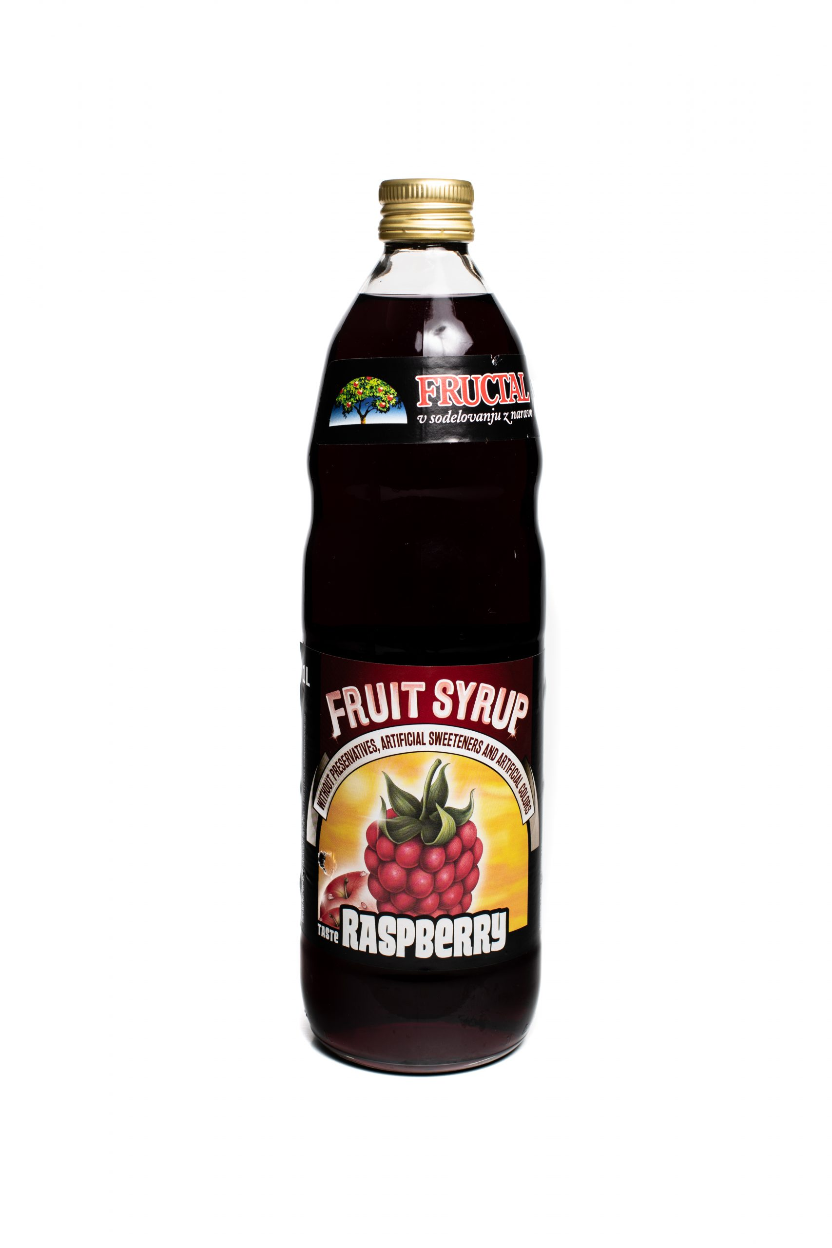 Fructal Syrup | 1 L | Raspberry