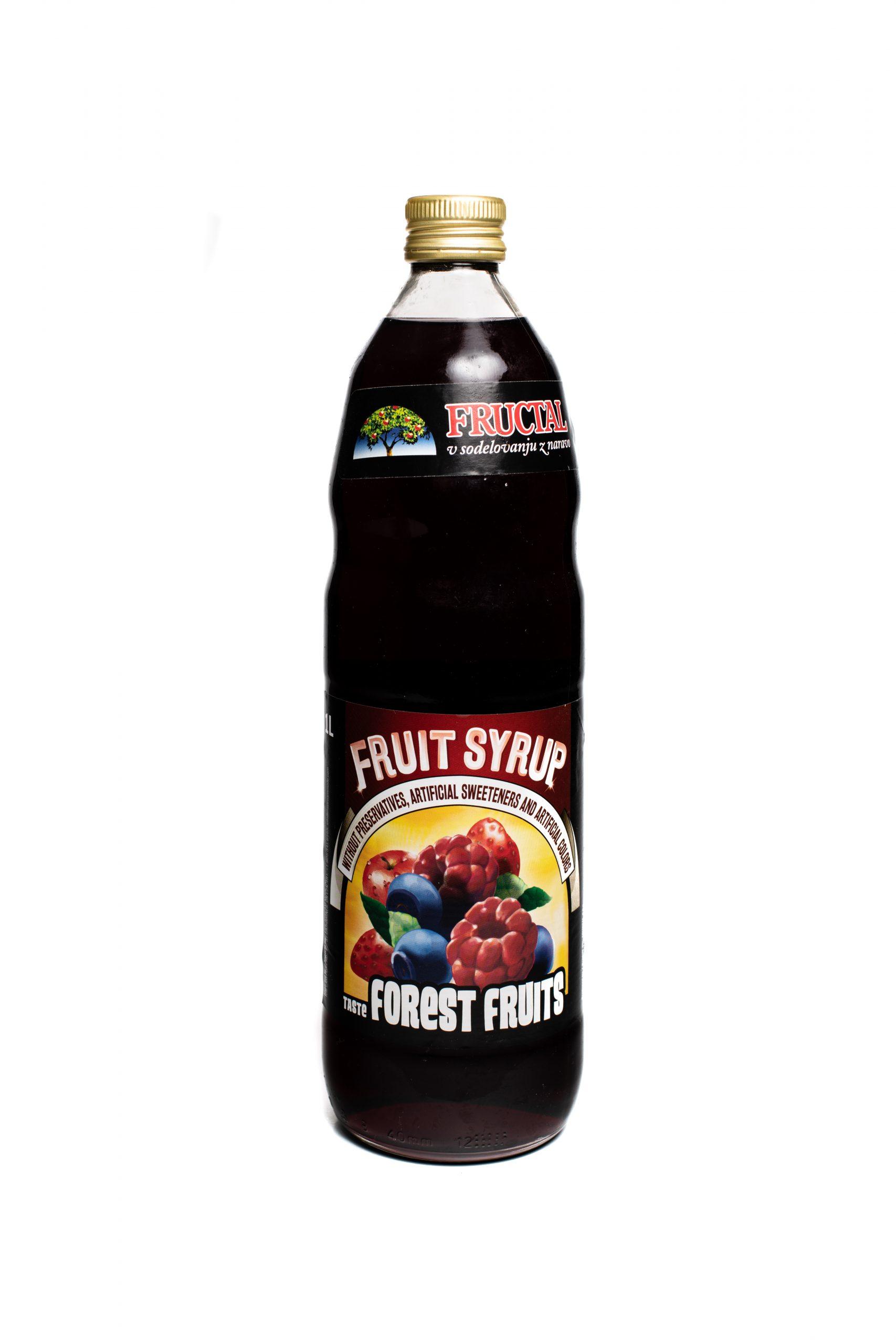 Fructal Syrup | 1 L | Forest Fruit