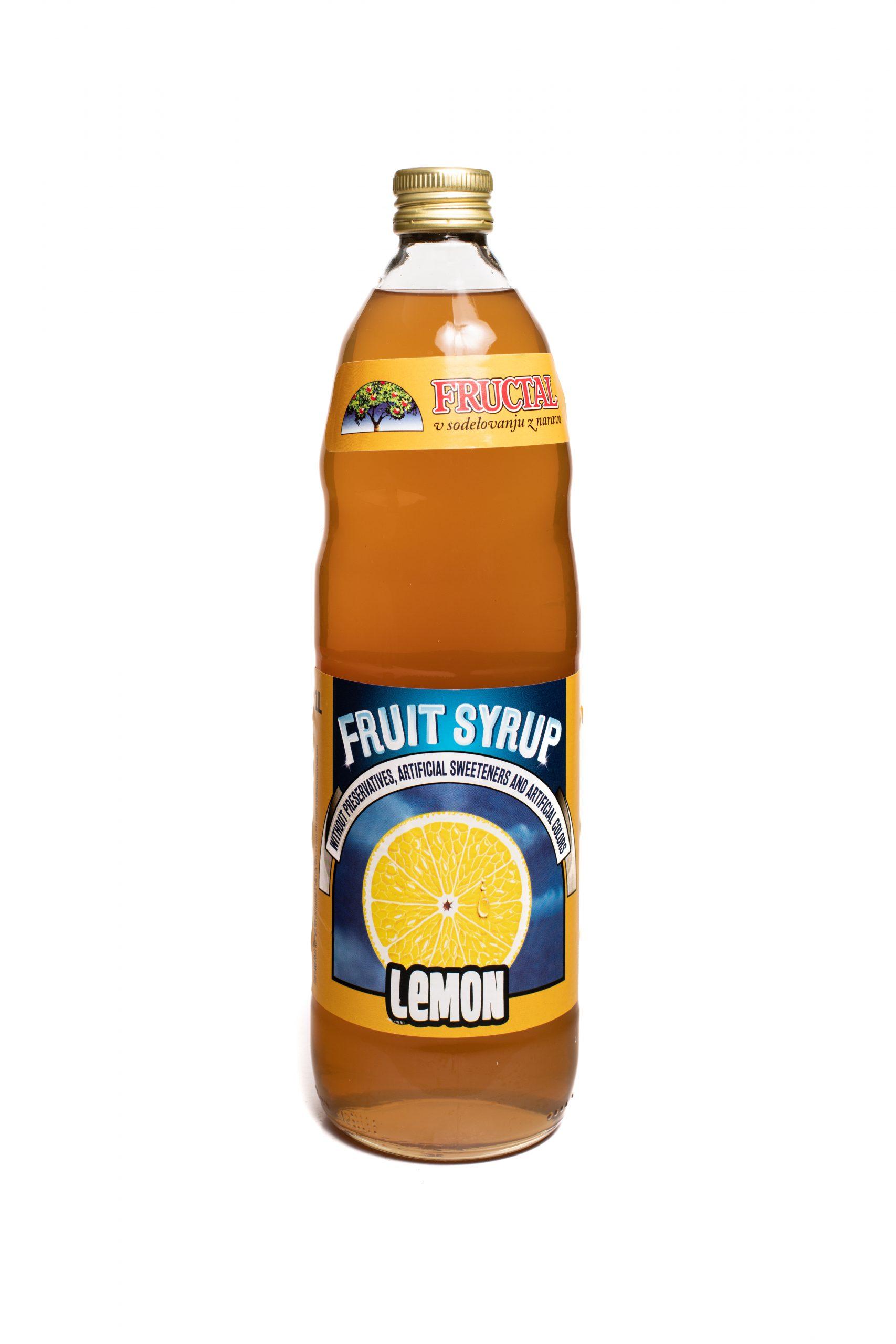Fructal Syrup | 1 L | Lemon