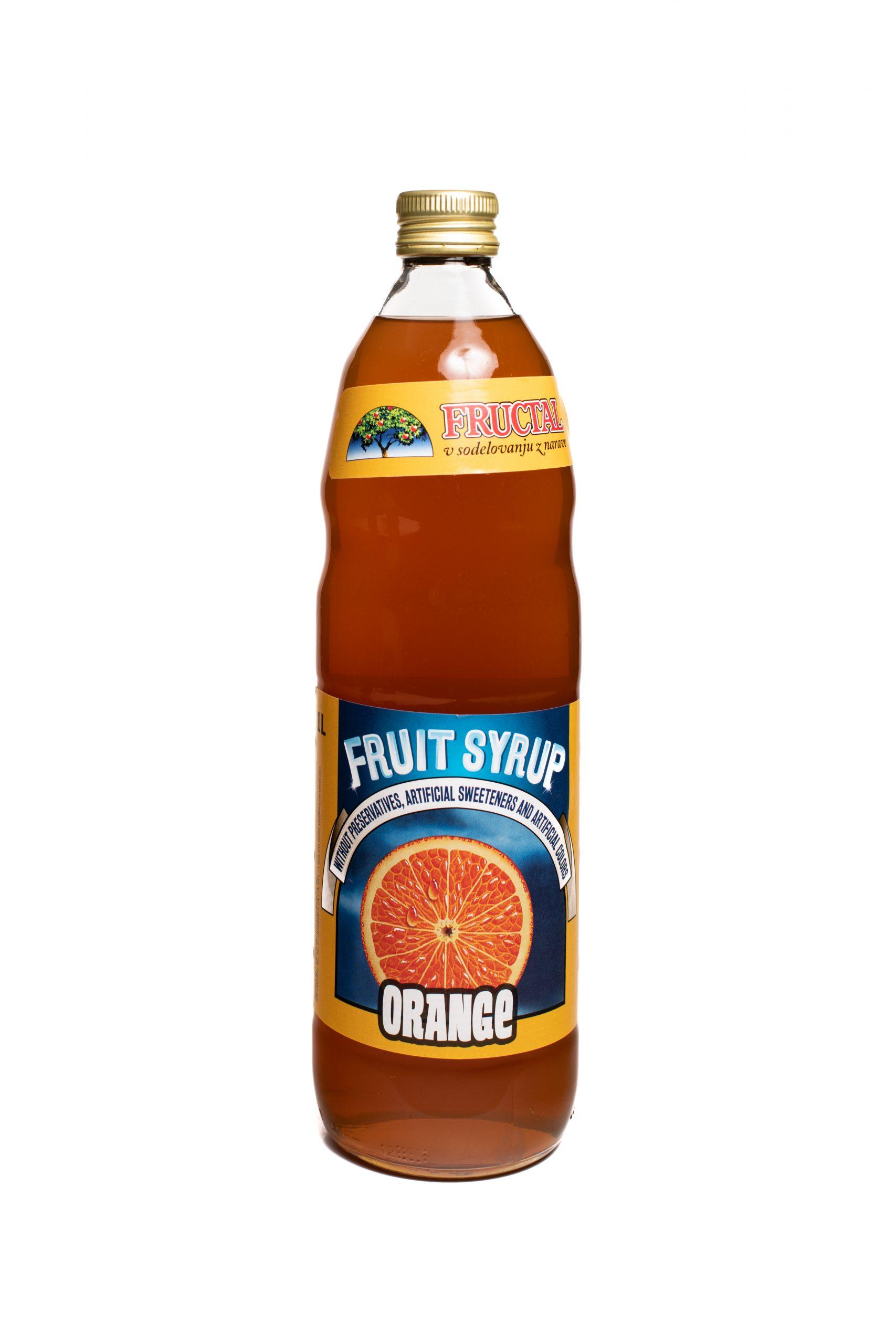 Fructal Syrup | 1 L | Orange