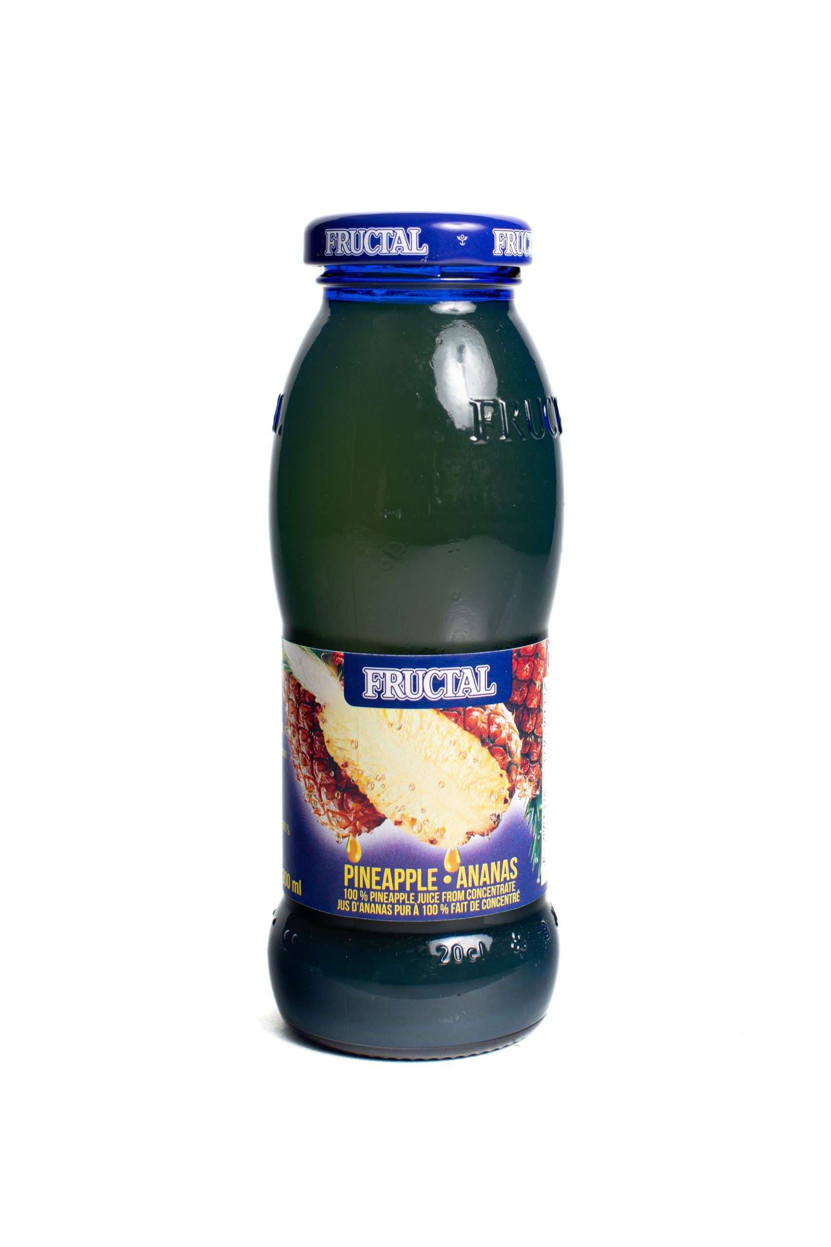 Fructal Blue Bottle | 200 ml | Glass | Pineapple