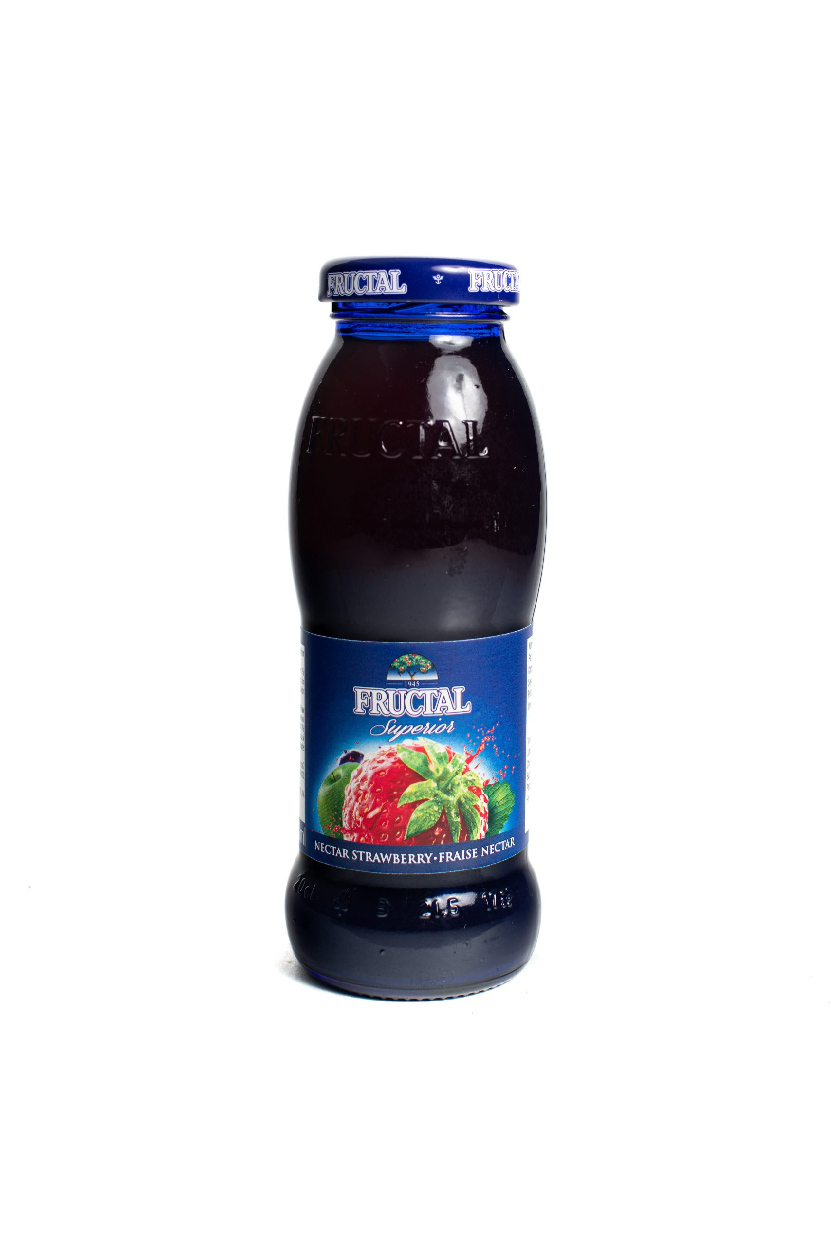 Fructal Blue Bottle | 200 ml | Glass | Strawberry
