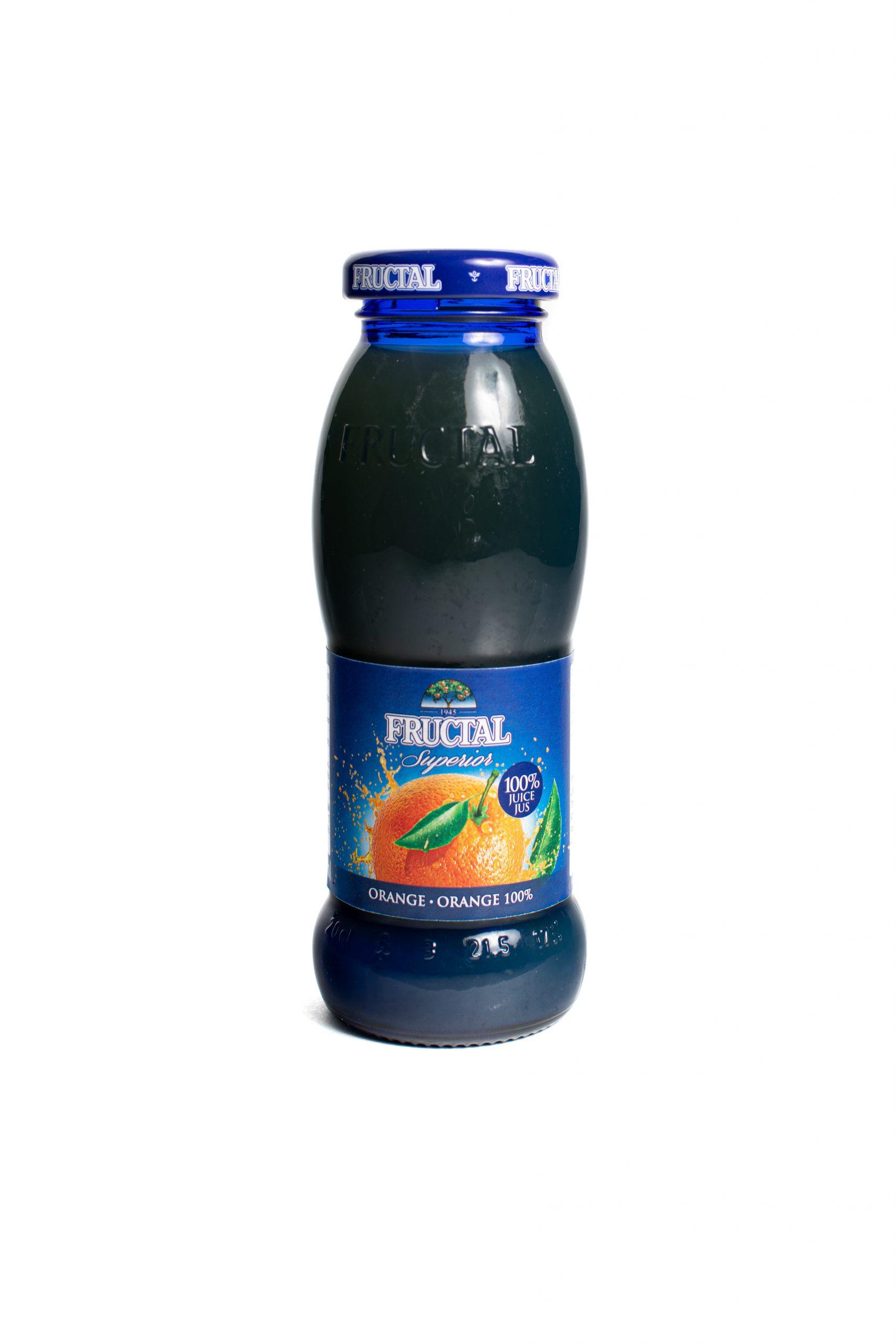 Fructal Blue Bottle | 200 ml | Glass | Orange
