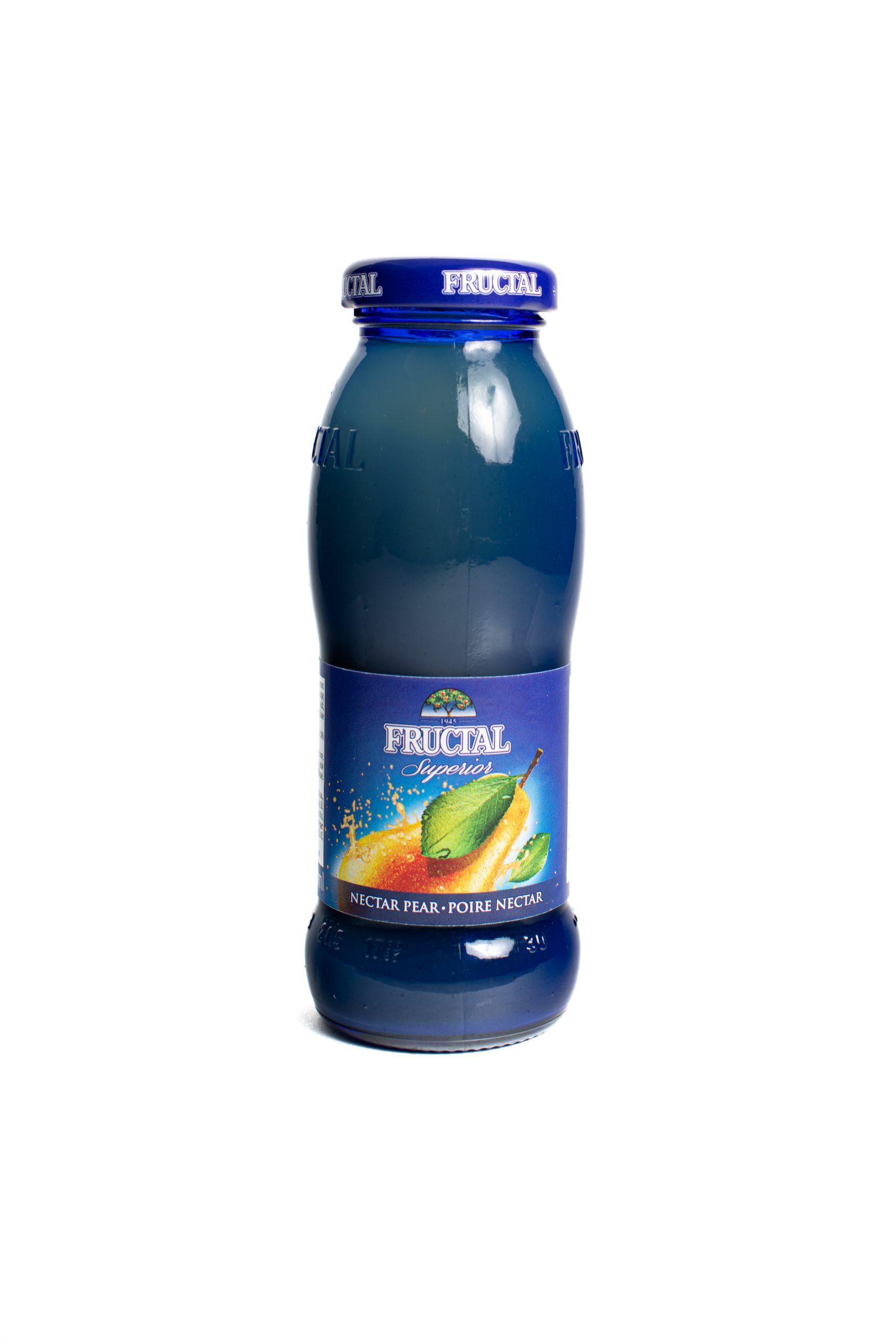 Fructal Blue Bottle | 200 ml | Glass | Pear