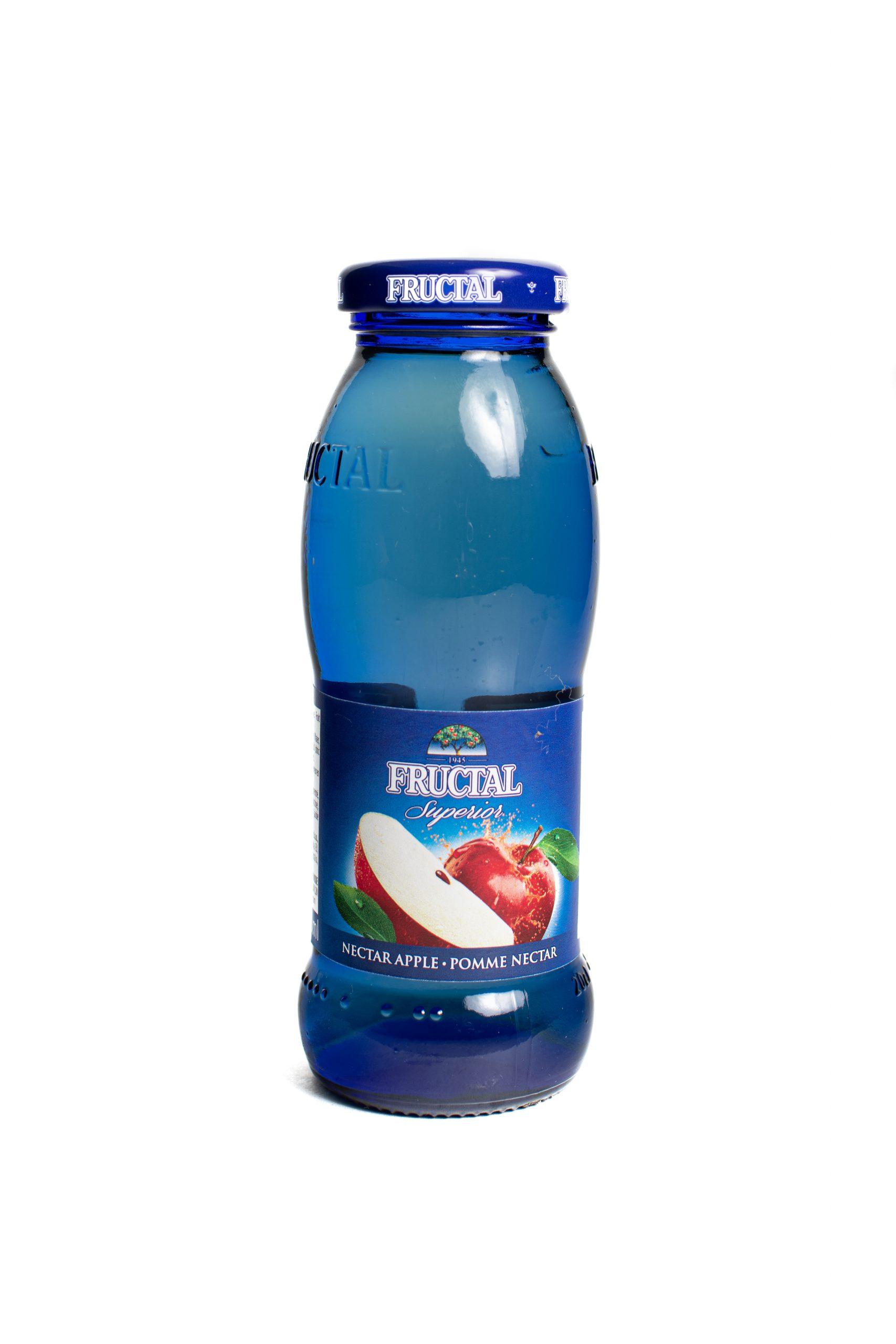 Fructal Blue Bottle | 200 ml | Glass | Apple